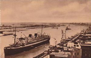 Steamer, Entrance To The Suez Canal, Port Said, Egypt, Africa, 1900-1910s