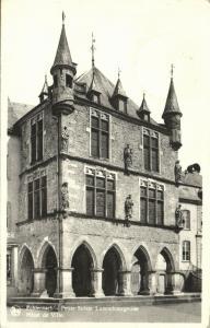 luxemburg, ECHTERNACH, Town Hall (1950) Stamp