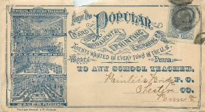 Letter Covers USA 1c