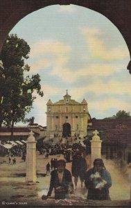 CHICHICASTENANGO , Gutemala , 30-40s ; Incense burning at the Calvary Church