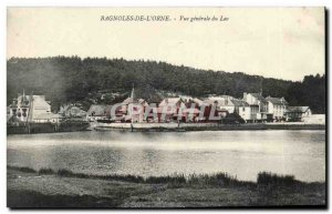 Cars of & # 39orne Old Postcard General view of the lake