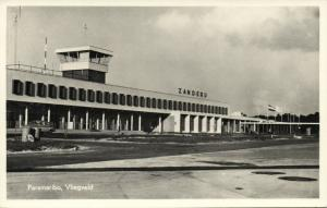 suriname, PARAMARIBO, Johan Adolf Pengel International Airport, Zanderij (1961)