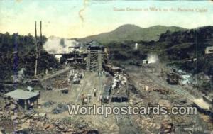 Panama Panama Canal Stone Crusher at Work