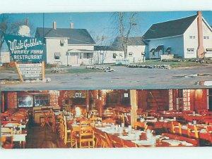 Pre-1980 RESTAURANT SCENE Nashua New Hampshire NH AD9972
