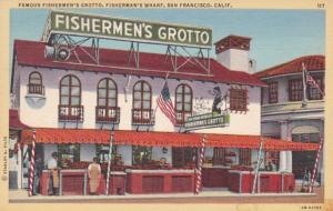 California San Francisco Fisherman's Wharf Fishermen's Grotto
