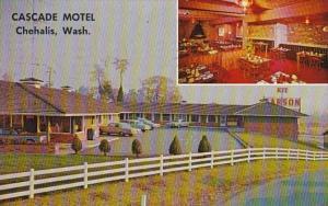 Washington Chehalis Cascade Motel 1967