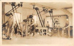 H78/ Washington D.C. RPPC Postcard c1910 National Training School Boys187
