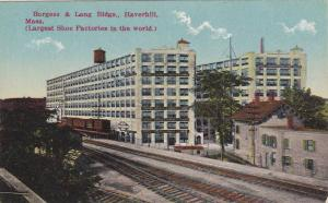 Burgess & Lang Buildings, Railroad Tracks, Haverhill, Massachusetts, 1900-1910s