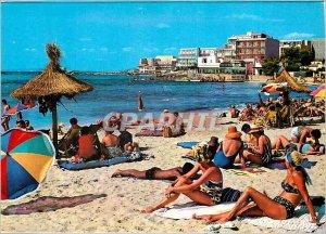 Postcard Modern Palma Mallorca Baleares Espana