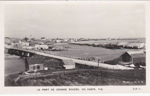 RP: CO. GASPE , Quebec , Canada , 1930-40s; Le Port De Grande Riviere
