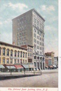 Street view,  City National Bank Building,  Utica,  New York,  00-10s