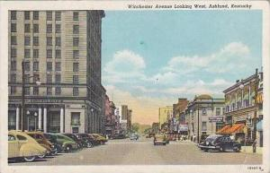 Kentucky Ashland Winchester Avenue Looking West