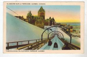 1480  Quebec Tobogganing on Dufferin Terrace