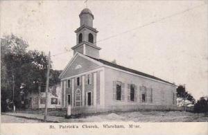 Massachusetts Wareham St Patricks Church