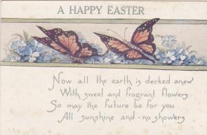 A Happy EASTER, Butterflies, Poem, 00-10s