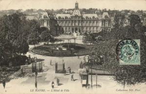 CPA  Le Havre - L'Hotel de Ville    (201242)