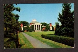 DE Library University of DELAWARE NEWARK Postcard PC