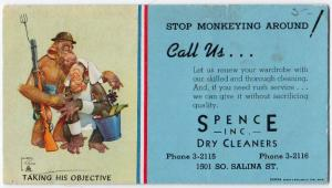 Spence Inc Dry Cleaners, Syracuse NY