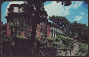 Pre Civil War Homes,Galena,IL Postcard BIN