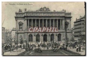 Old Postcard Marseille The Palace of scholarship