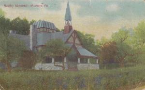 MONTEREY , Pennsylvania, 1911; Hawley Memorial