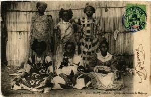 CPA Groupe de femmes de MAJUNGA MADAGASCAR (709601)