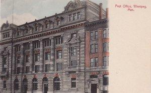 WINNIPEG, Manitoba, Canada, 00-10s; Post Office