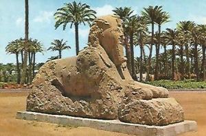 POSTAL 53174: MEMPHIS. La esfinge de alabastro