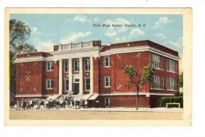 Girl´s High School, Sumter, South Carolina, 1910-1920s
