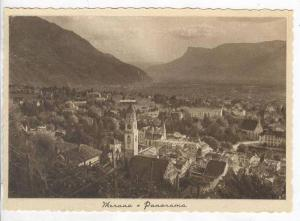 Aerial View of City,Merano,Italy 1900-10s