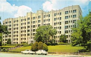HOT SPRINGS ARKANSAS~ST JOSEPH HOSPITAL POSTCARD 1960 PSTMK