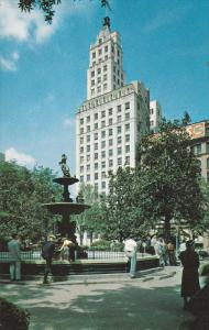 MEMPHIS, Tennessee, 1940-1960's; Court Square Columbia Mutual Tower