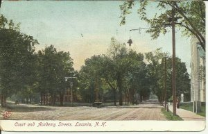 Court And Academy Streets, Laconia, N.H.