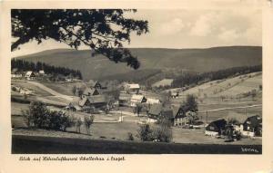 Germany Blick auf Hohenluftkurort Schellerhau i. Erzgeb.
