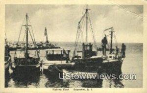 Fishing Fleet - Sakonnet, Rhode Island