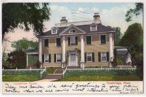 Longfellow Home, Cambridge MA