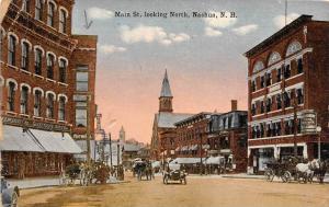 New Hampshire  Nashua ,   Main Street, looking North