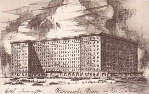 Hotel Leamington Minneapolis Minnesota