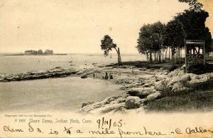 CT - Indian Neck. Shore Scene