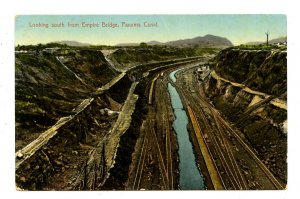 Panama - Canal Zone. View South from Empire Bridge