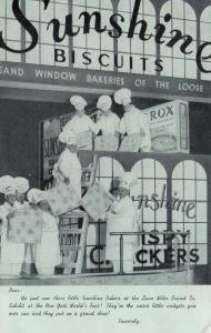 NEW YORK CITY, New York, PU-1940; Sunshine Bakers Exhibit, World Fair