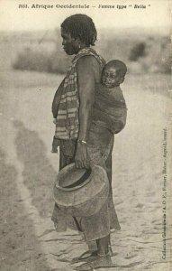 CPA AK Sénégal - Fortier 1051 - Femme type Bella (84830)