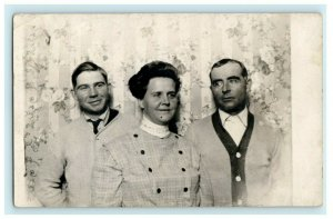 1908 Smith Family Portland Oregon OR Antique RPPC Photo Postcard