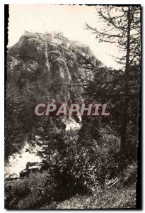 Old Postcard The Alps of Chateau Queyras