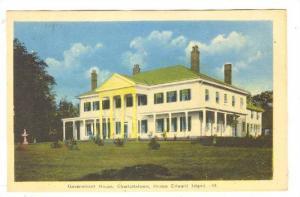 Gov House,Charlottetown,Prince Edward Island,Canada,30-50s