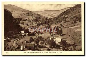 Old Postcard View Bussang management of forestry House Taye