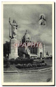 Old Postcard Lisieux Avenue De Ste Therese Therese Towards Towards The Statue...
