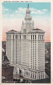 NEW YORK CITY, New York, 1900-1910's; Municipal Building
