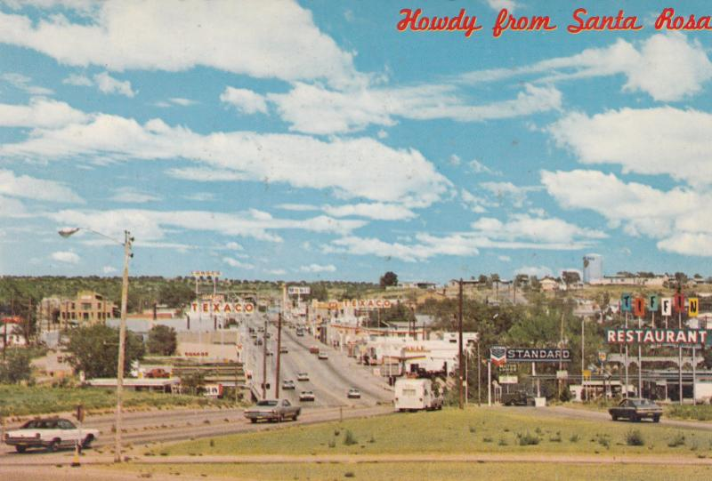 SANTA ROSA , New Mexico ,1950-70s ; On Route 66