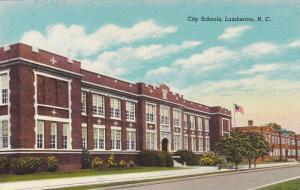 City Schools, Lumberton, North Carolina, 30-40s